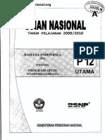 Soal Bahasa Indonesia Un Sma 2010 2