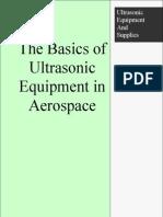The Basics of Ultrasonic Equipment in Aerospace