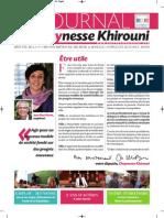 Chaynesse Khirouni - Le Journal - n°2