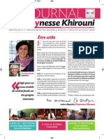 Chaynesse Khirouni - Le Journal - n°2