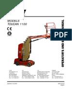 Manual Grove Toucan 1100