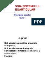 Patologia Sistemului Osos