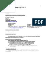 UT Dallas Syllabus for psy3338.501.10s taught by John Santrock (santrock)