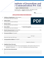 BTIJMC Application Form