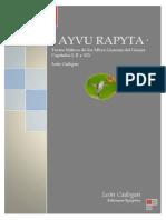 · Ayvu Rapyta · Textos Míticos de los Mbyá-Guaraní del Guairá · León Cadogan · Caps. I, II y XIX · Ediciones Epopteia ·