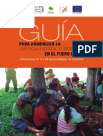 Guía para armonizar la Justicia Estatal e Indígena en el Fuero Penal