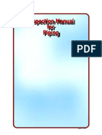 Inspection Manual for Piping
