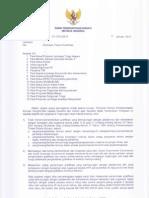 Surat Edaran KPK No. B 143 tahun 2013 Himbauan Terkait Gratifikasi