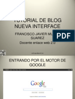 Tutorial de Blogger Nueva Interfase