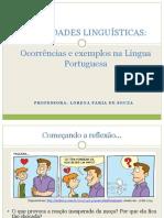Variedades Linguísticas - Aula IFMG Bambuí