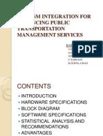 Gps-gsm Integration for Enhabcing Public Transportation Management Services