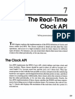 7. the Real-Time Clock API