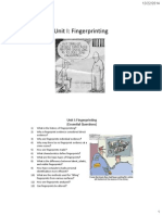 unit i fingerprinting notes