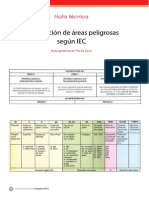 Ie270 the Ex Zone Clasificacion de Areas Peligrosas
