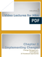 Free Video Lecture for MBA