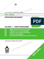 Part B1 Fire Safety 2006 - Dwellings