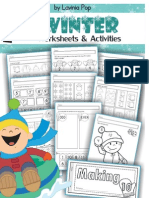 """Preview of """"Worksheets and Activities - Winter MATH SAMPLE.cdr - 1024082.pdf"""".pdf"""