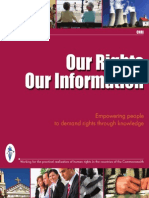 Our Rights Our Information Human Rights Initiative