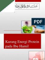 Kurang Energi Protein Pada Ibu Hamil