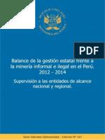 Informe Defensorial 167