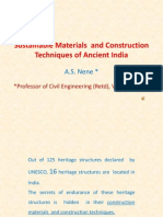 sustainablebuildingmaterialsofancientindia-140117072933-phpapp02
