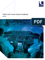 CAP 737 Flightcrew Human Factors Handbook