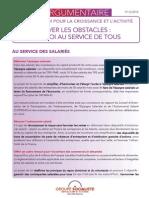 Argumentaire du groupe PS sur la loi Macron
