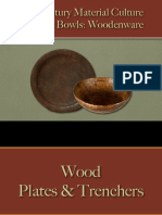 Food Service - Plates & Bowls - Wood