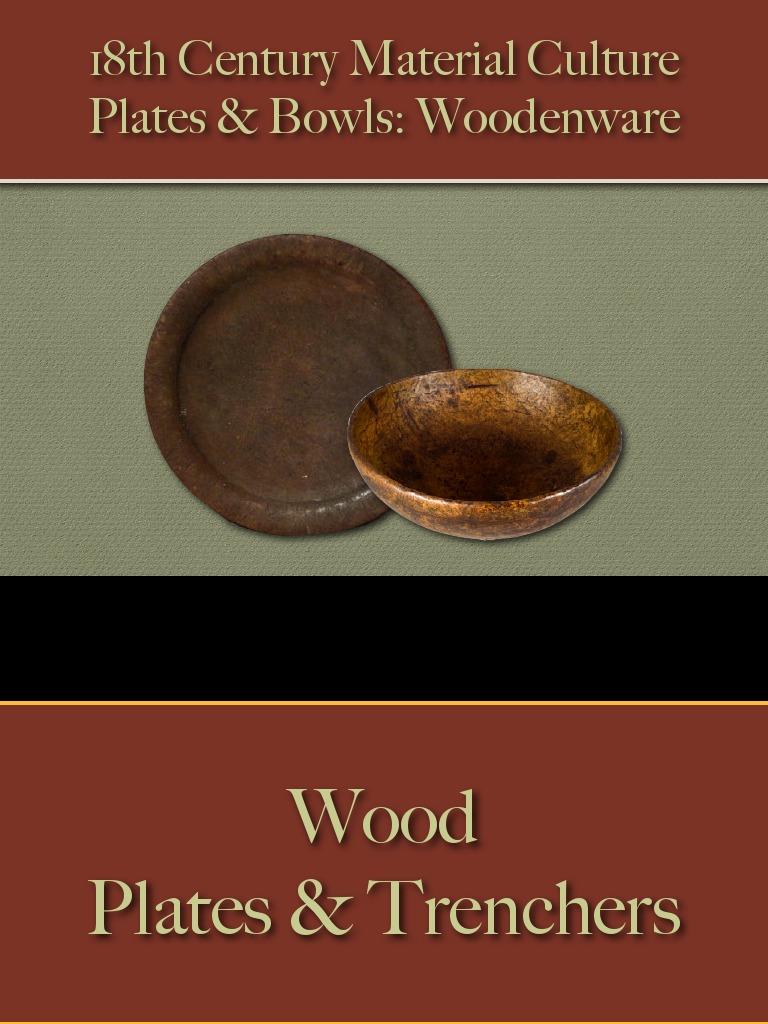 Food Service - Plates & Bowls - Wood | Maple
