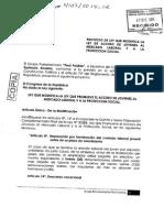 PP presenta modificaciones a Régimen Laboral Juvenil