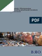 Waalwijk Effectenanalyse detailhandel Zanddonk 2014