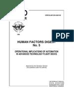 Human Factors Digest No. 5
