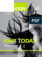 ENG - Advertisement Body Language Journal December 67 - S.A.F.E.R.®/NeoGraft® hair transplant technique