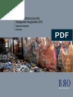 Stadsgewest Haaglanden Detailhandelsstructuurvisie 2012