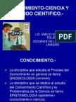 CONOCIMIENTO Y CIENCIA.ppt