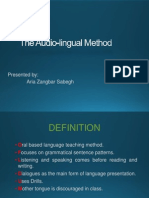 Audo Lingual Method