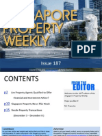 Singapore Property Weekly Issue 187