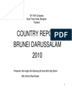 Country Report of Brunei Darussalam 2010