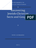 [VigChr Supp 110] Petri Luomanen - Recovering Jewish-Christian Sects and Gospels, 2012.pdf