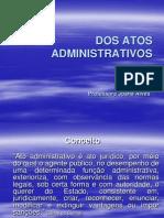 Aula 10 - Dos Atos Administrativos