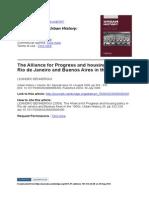 Leandro Benmergui - The Alliance for Progress