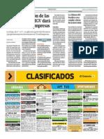 Reduccion de Las Retenciones Del IGV, Daran Mas Liquidacion a Las Empresas
