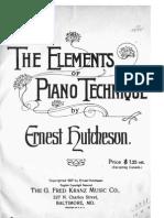 Elementos de La Técnica Pianística