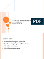 Invatarea Din Perspectiva Behaviorista (1)