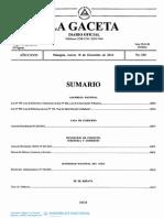 Ley N° 891. Ley de Reformas y Adiciones a la Ley Nº 822, Ley de Concertación Tributaria.