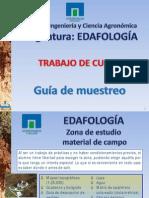 Guia de Muestreo Trabajo de Curso Edafología