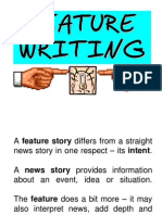 FEATURE WRITING.ppt