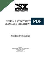 Pipeline - Design Construction Standards