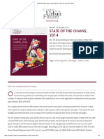 State of the Chains, 2014 by Center for an Urban Future