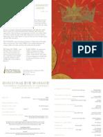 Christmas Eve 2014 Family Service Bulletin | First Presbyterian Church of Orlando